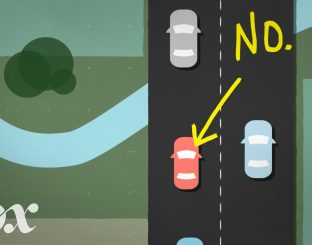 Don't drive slowly in the left lane !